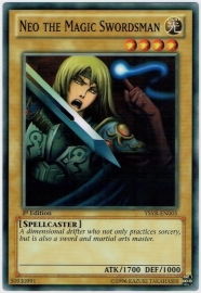 Neo the Magic Swordsman - 1st Edition - YSYR-EN005