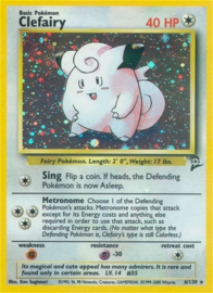 Clefairy - Unlimited - BaSe2 - 6/130