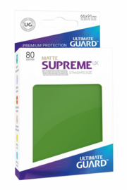 Supreme UX Sleeves - Standard Size Matte - Green