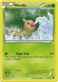Weedle - PlasFree - 1/116