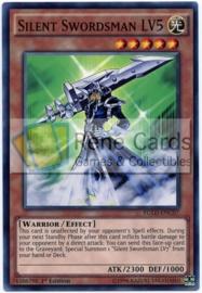 Silent Swordsman LV5 - 1st Edition - YGLD-ENC07