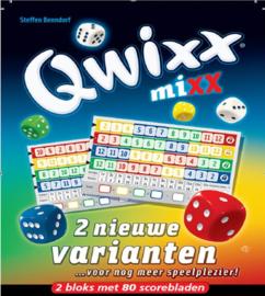 Qwixx - 2 Nieuwe Varianten Scoreblocks