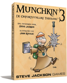 Munchkin 3: De Onfortuynlijke Theoloog - NL Editie