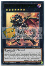 Red-Eyes Flare Metal Dragon - 1st. Edition - LDS1-EN015 - Green