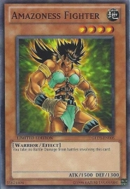 Amazoness Fighter - Limited Edition - GLD3-EN005