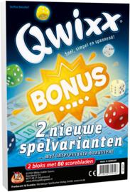 Qwixx - Bonus - Scorebloks Met 2 Nieuw Varianten