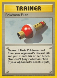 Pokemon Flute - BaSet 86/102 - Unlimited
