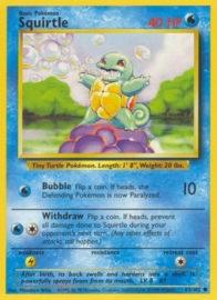 Squirtle - BaSet 63/102 - Unlimited