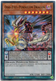 Odd-Eyes Pendulum Dragon -  1st. Edition - LEDD-ENC01