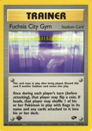Fuchsia City Gym - Unlimited- GymChal - 114/132