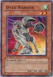 Speed Warrior - 1st Edition - 5DS2-EN015