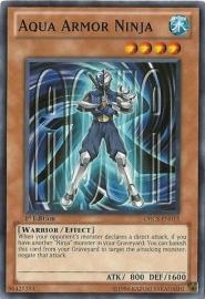 Aqua Armor Ninja - 1st Edition - ORCS-EN015