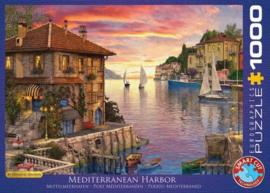 Dominic Davidson - Mediterranean Harbor  (1000)