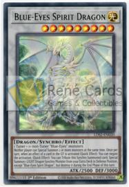 Blue-Eyes Spirit Dragon - 1st. Edition - LDS2-EN020 - Green