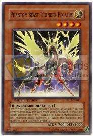 Phantom Beast Thunder-Pegasus - Limited Edition - GLD2-EN013