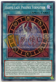 Harpie Lady Phoenix Formation - 1st. Edition - LED4-EN010