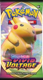 Sword & Shield - Vivid Voltage - Booster Pack - Pikachu
