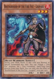 Brotherhood of the Fire Fist - Leopard - 1st Edition - MP14-EN013