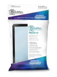 Bordifies™ Precise-Fit - Sleeves - Standard Size - Black