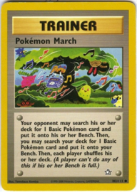 Pokemon March - Unlimited - NeoGen - 102/111