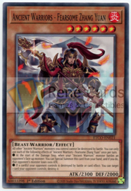 Ancient Warriors - Fearsome Zhang Yuan - 1st. Edition - ETCO-EN021