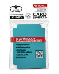 Card Dividers - Standard Size - Petrol