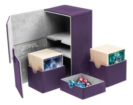 Twin Flip´n´Tray Deck Case 160+ Standard Size XenoSkin Purple