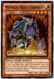 Mythical Beast Cerberus - 1st Edition - BP02-EN042