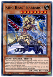 King Beast Barbaros - 1st. Edition - ETCO-EN030