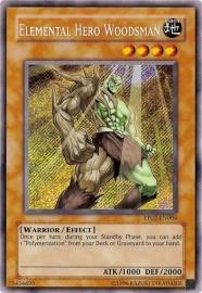 Elemental Hero Woodsman - PP02-EN004 (Secret R)