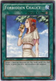 Forbidden Chalice - Unlimited - BP01-EN082