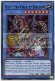 Odd-Eyes Gravity Dragon -  1st. Edition - LEDD-ENC12