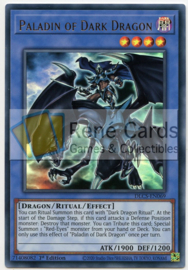 Paladin of Dark Dragon - 1st. Edition - DLCS-EN069 - Gold