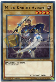 Mekk-Knight Avram - 1st. Edition - FLOD-EN016