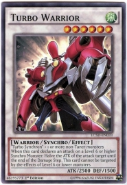 Turbo Warrior - 1st Edition - LC5D-EN033
