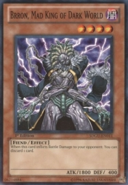 Brron, Mad King of Dark World - 1st Edition - SDGU-EN011