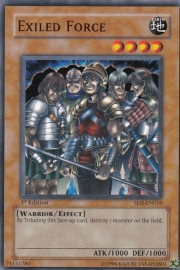 Exiled Force - 1st Edition - SD5-EN010