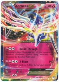 Xerneas EX - XY07 - Promo - Legends of Kalos Tins