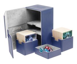 Twin Flip´n´Tray Deck Case 160+ Standard Size XenoSkin Blue