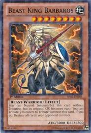 Beast King Barbaros - 1st Edition - BP02-EN080