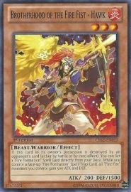 Brotherhood of the Fire Fist - Hawk - 1st Edition - CBLZ-EN021