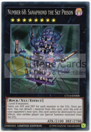 Number 68: Sanaphond the Sky Prison - Limited Edition - CT14-EN008