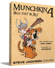 Munchkin 4: Blij Dat Ik Rij - NL Editie