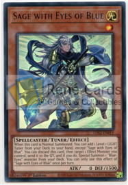Sage with Eyes of Blue  - 1st. Edition - LDS2-EN011 - Purple