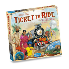 Ticket to Ride - India + Switzerland (Eng.)