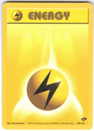 Lightning Energy - Unlimited - GymChal - 130/132