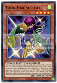Toon Harpie Lady  - Unlimited - TOCH-EN002