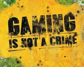 Gaming Is Not A Crime (M19)