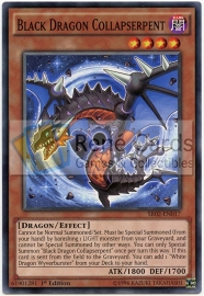 Black Dragon Collapserpent - 1st Edition - SR02-EN017