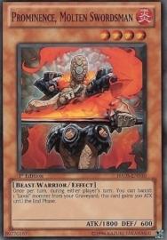 Prominence, Molten Swordsman - 1st Edition - HA05-EN010